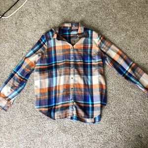 Roots Women's plaid flannel